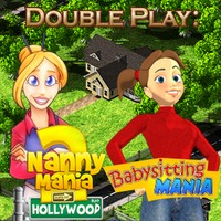 Double Play: Nanny Mania 2 and Babysitting Mania game