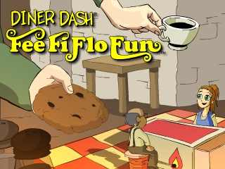 Diner Dash - Fee Fi Flo Fun game