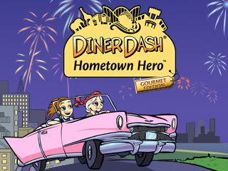 Diner Dash Hometown Hero - Gourmet game