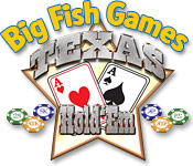 Big Fish Games Texas Hold'Em game