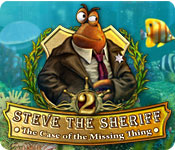 Steve the Sheriff: The Case of the Missing Thing game