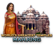 World's Greatest Temples Mahjong game