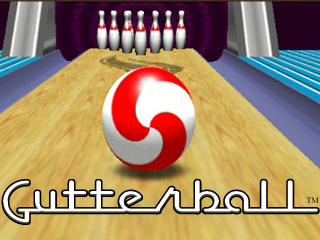 Gutterball game
