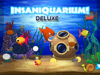 Insaniquarium deluxe game download and play for Pet fish games