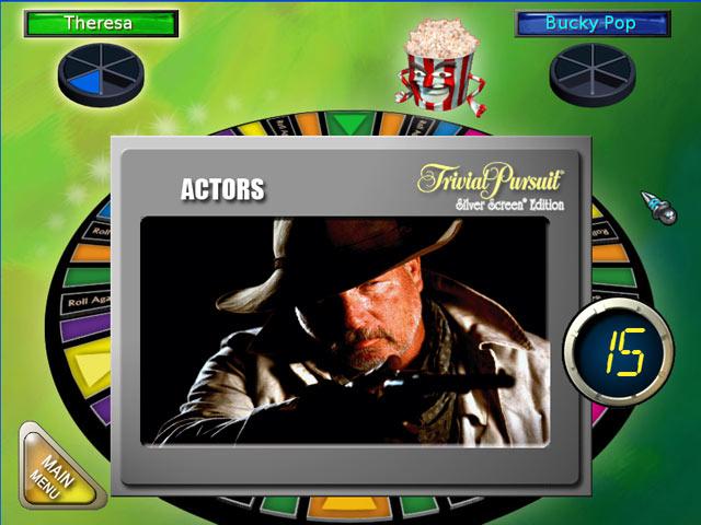 Trivial Pursuit Silver Screen Edition screenshot