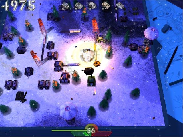 Tank-o-box: скриншоты