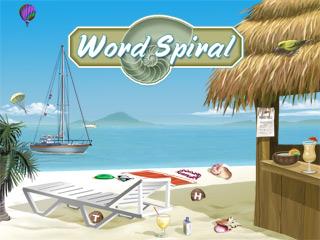 Word Spiral game